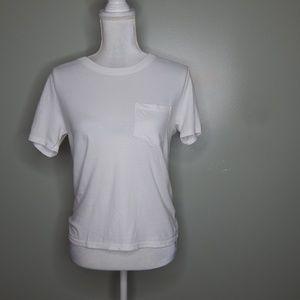 everlane women white T-Shirt cotton SZ M